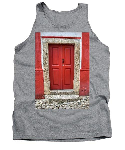 Red Door Nine Of Obidos Tank Top