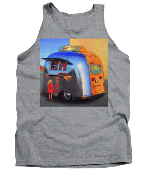 Reflections On An Airstream Tank Top