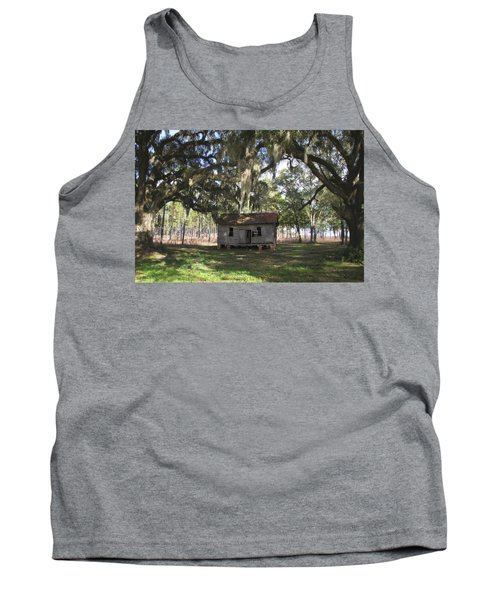 Resting Under The Big Shade Trees Tank Top