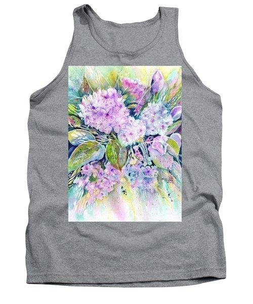 Rhododendron Spring Garden Tank Top