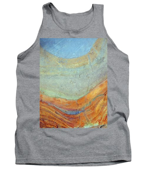 Rock Stain Abstract 7 Tank Top