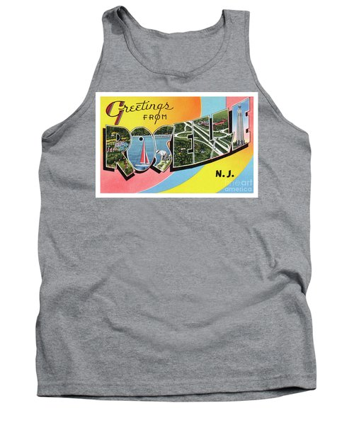 Roselle Greetings Tank Top