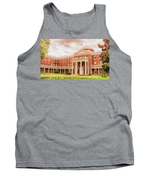 Rotunda Building Longwood University In Farmville Virginia Tank Top