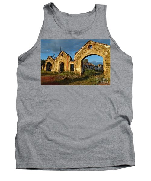 Ruins Of The Abandoned Mine Of Sao Domingos. Portugal Tank Top