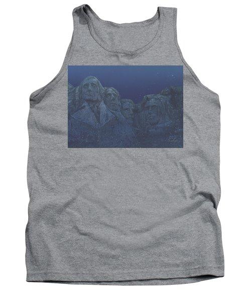 Rushmore Airbrush Tank Top