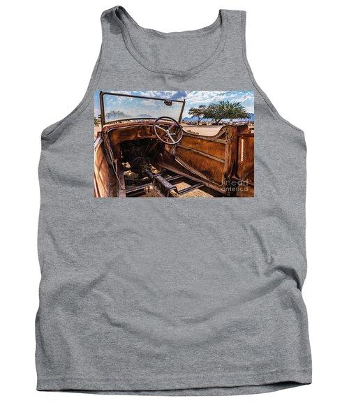 Rusty Car Leftovers Tank Top