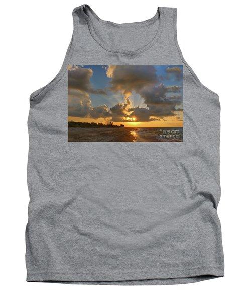 Sanibel Island Sunrays Tank Top