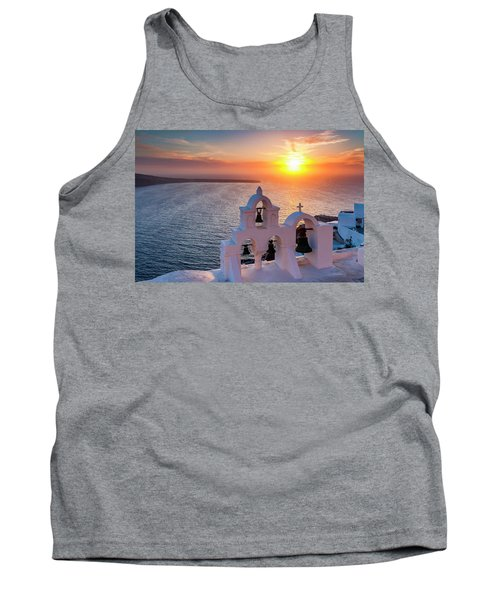 Santorini Sunset Tank Top