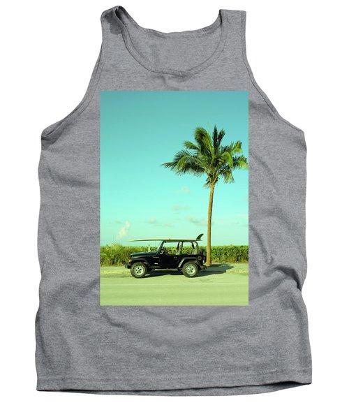 Saturday Surfer Jeep Tank Top