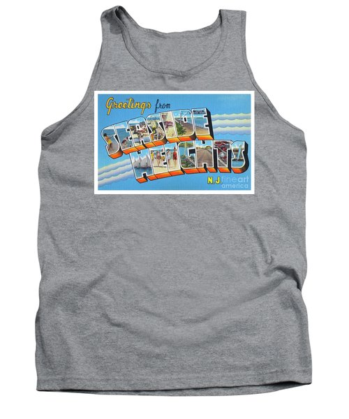 Seaside Heights Greetings Tank Top