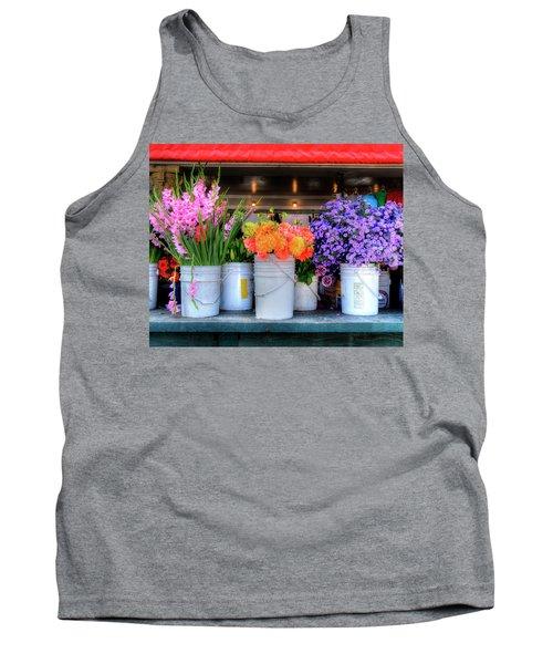 Seattle Flower Market Tank Top