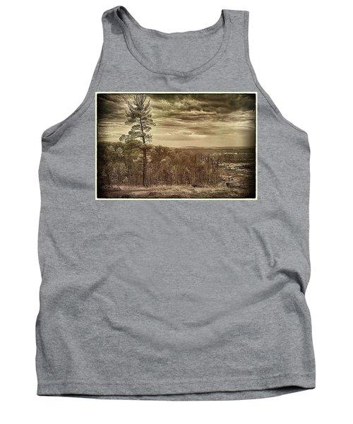 Sepia Sunset Tank Top