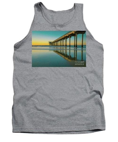 Serenity Scripps Pier La Jolla San Diego Tank Top