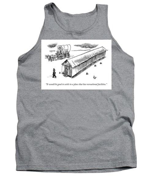 Settlers Tank Top