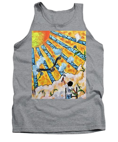 Shattered Skies Tank Top