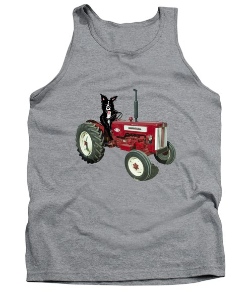 Sheepdog Tractor  Tank Top