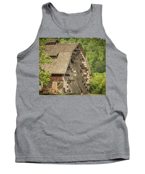 Shingled Barn Tank Top