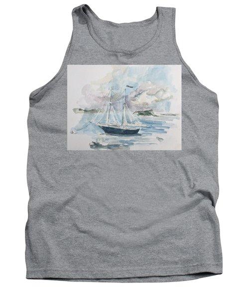 Ship Sketch Tank Top