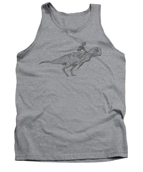 Siberian Dinosaur Tank Top
