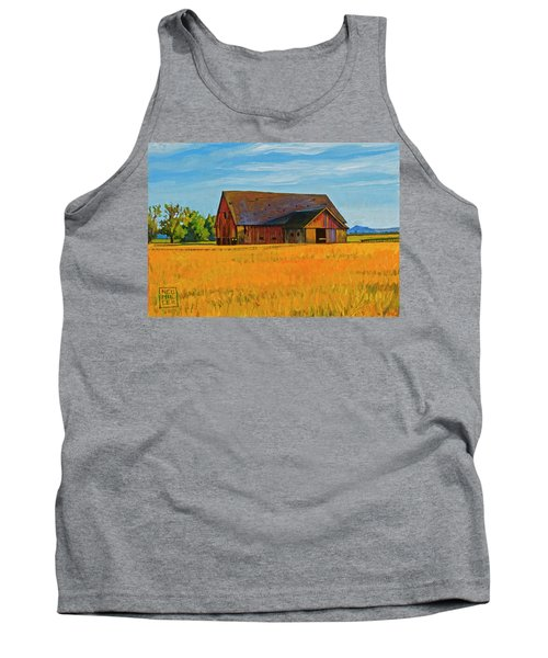 Skagit Valley Barn #9 Tank Top