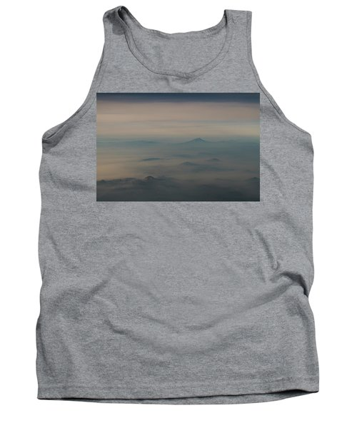 Tank Top featuring the photograph Smoke From A Distant Fire by Alex Lapidus