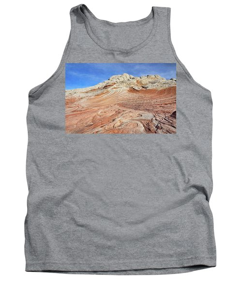 Solid Waves Pano Tank Top