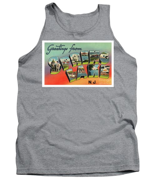 Spring Lake Greetings Tank Top
