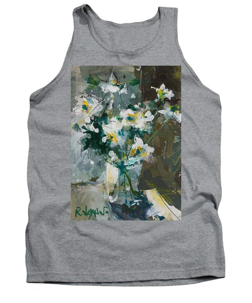 Still Life With White Anemones Tank Top