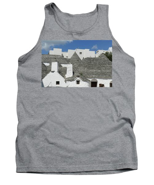Stone Coned Rooves Of Trulli Houses Tank Top