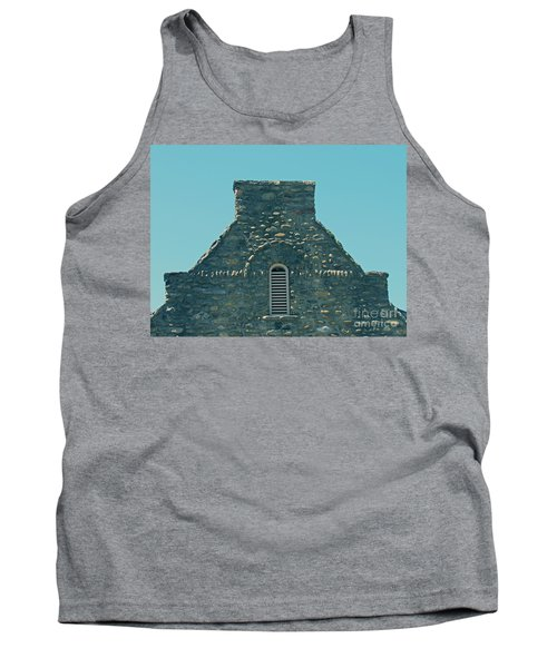 Stone Topper On Building Tank Top