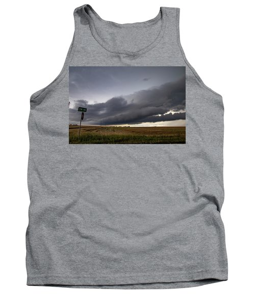 Storm Chasin In Nader Alley 004 Tank Top
