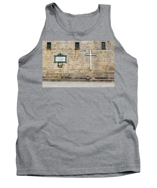 Tank Top featuring the photograph Street Color by Alex Lapidus