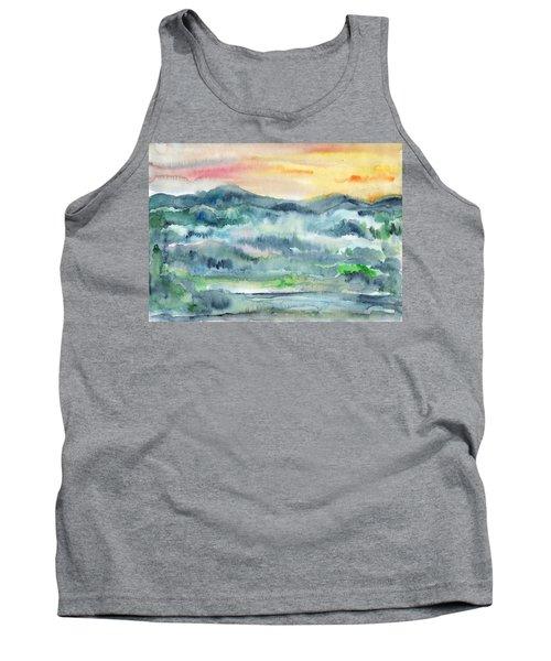 Summer Sunset Tank Top