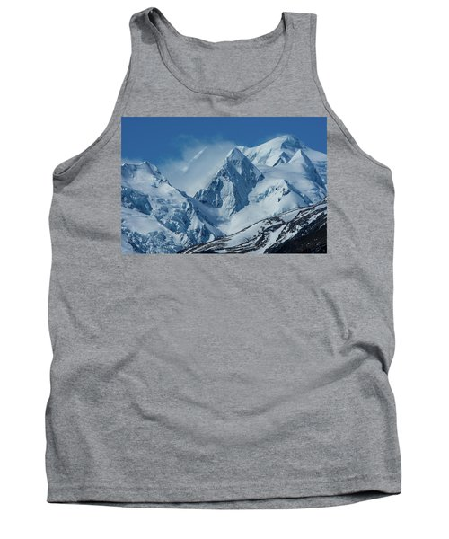 Summer Winds In Mount Cook National Park Tank Top