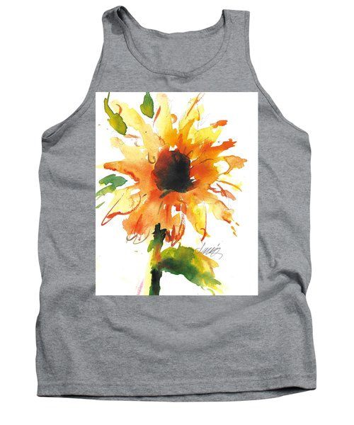 Sunflower Too - A Study Tank Top