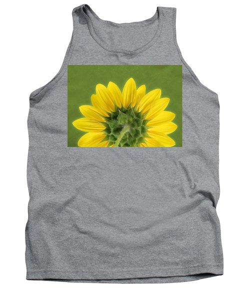 Sunflower Sunrise - Botanical Art Tank Top