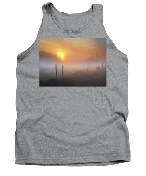 Sunrise Over Morning Pasture Tank Top