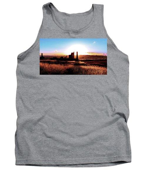 Sunset. Magpie Mine. Tank Top
