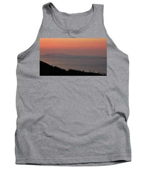 Sunset Of The Olympic Mountains Tank Top