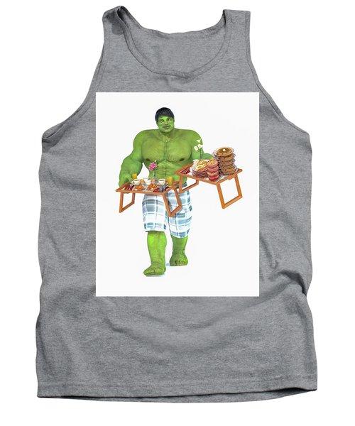 Super Morning Hero Breakfast Tank Top