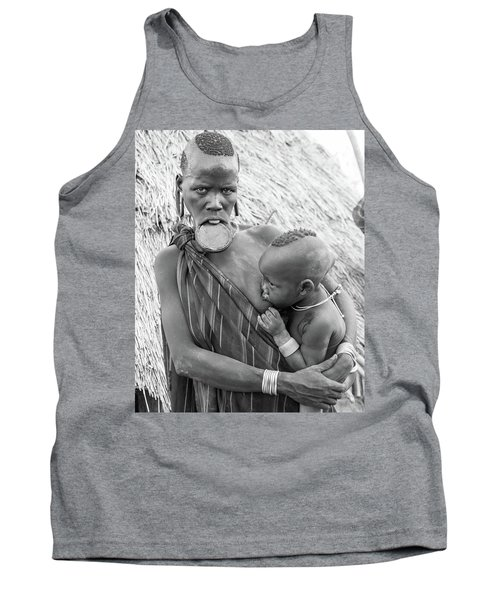 Mursi Mother And Child Tank Top