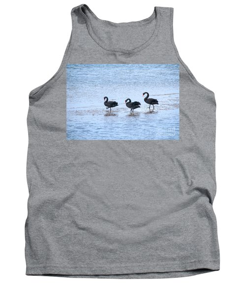 Swans On Parade Tank Top