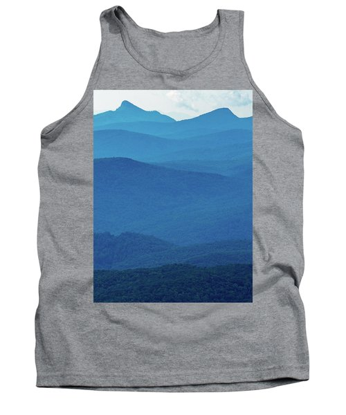 Table Rock And Hawksbill  Mountain - Linville North Carolina - Blue Ridge Parkway Tank Top