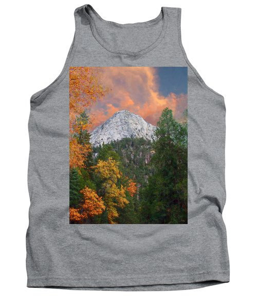 Tahquitz Peak - Lily Rock Painted Version Tank Top