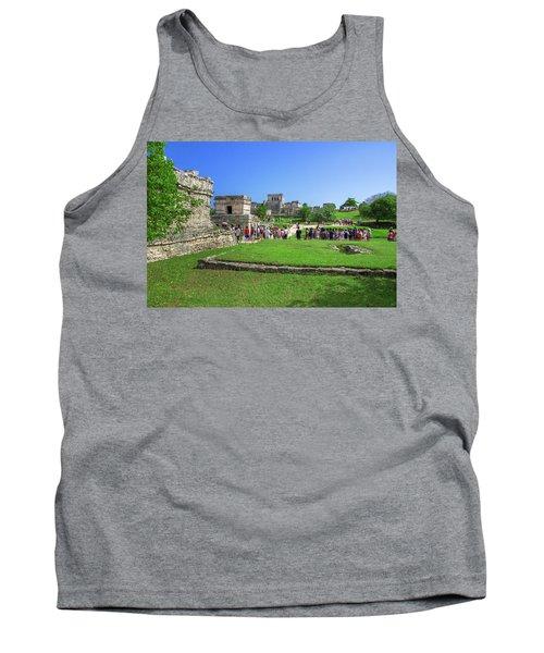 Temples Of Tulum Tank Top