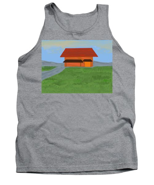 The Best Country Road Diner Tank Top