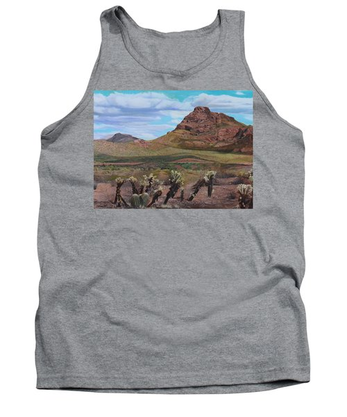 The Cholla At Mount Mcdowell, Arizona Tank Top