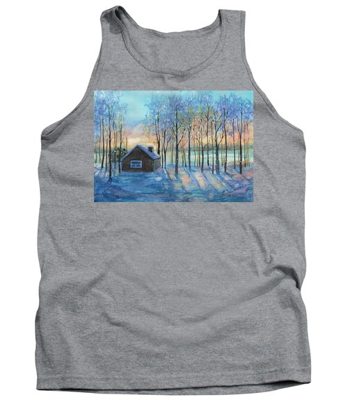 The Color Of Winter Is White ? Tank Top