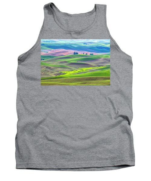 The Color Palette Of The Palouse Tank Top