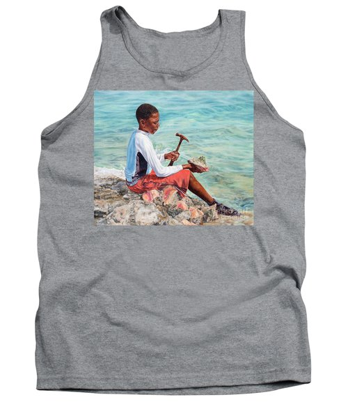 The Conch Boy Tank Top